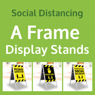 A Frame Display Stands